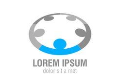 ομάδα λογότυπων Στοκ φωτογραφίες με δικαίωμα ελεύθερης χρήσης