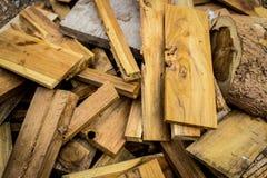 Ομάδα ξύλινου κεραμιδιών ή παρκέ Στοκ Εικόνα