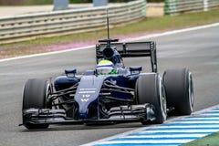 Ομάδα Ουίλιαμς F1, Felipe Massa, 2014 Στοκ φωτογραφίες με δικαίωμα ελεύθερης χρήσης