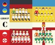 Ομάδα παικτών στοκ εικόνα με δικαίωμα ελεύθερης χρήσης