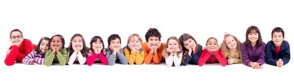 Ομάδα παιδιών Στοκ Φωτογραφίες