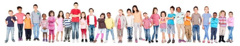 Ομάδα παιδιών στοκ εικόνες με δικαίωμα ελεύθερης χρήσης