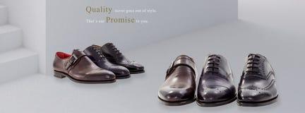 Ομάδα παπουτσιών ατόμων Στοκ Εικόνες