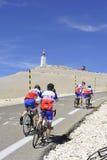 Ομάδα ποδηλατών Στοκ εικόνα με δικαίωμα ελεύθερης χρήσης