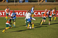 ομάδα ποδοσφαίρου bafana Στοκ εικόνα με δικαίωμα ελεύθερης χρήσης
