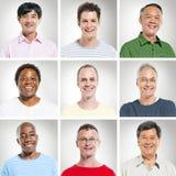 Ομάδα πολυ-Ethnics εύθυμων ανθρώπων στοκ φωτογραφία