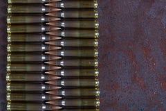 Ομάδα πυρομαχικών που τοποθετείται γεωμετρικά Στοκ Φωτογραφίες