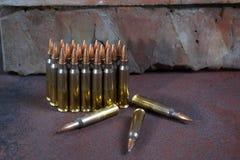 Ομάδα πυρομαχικών που τοποθετείται γεωμετρικά Στοκ φωτογραφία με δικαίωμα ελεύθερης χρήσης