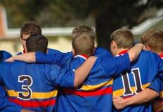 ομάδα ράγκμπι Στοκ Φωτογραφία