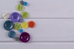 Ομάδα ραψίματος των κουμπιών Στοκ φωτογραφία με δικαίωμα ελεύθερης χρήσης