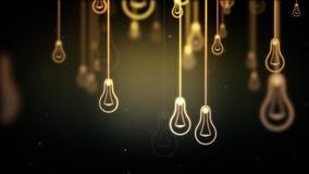 Ομάδα συμβόλων μορφών λαμπών φωτός Στοκ Εικόνες