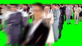 Ομάδα συνάντησης επιχειρηματιών απόθεμα βίντεο