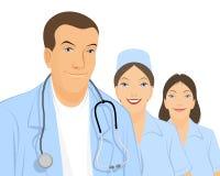 Ομάδα των γιατρών Απεικόνιση αποθεμάτων