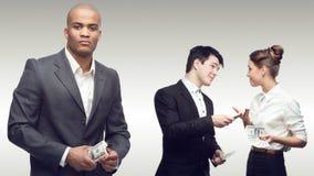 Ομάδα των νέων επιτυχών επιχειρηματιών Στοκ εικόνα με δικαίωμα ελεύθερης χρήσης