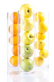 Ομάδα φρούτων: Appless, πορτοκάλια, λεμόνια Στοκ Φωτογραφία