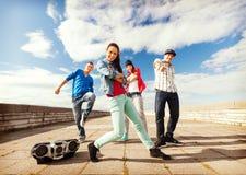 Ομάδα χορού εφήβων Στοκ Εικόνες