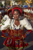 Ομάδα χορού Caporales - Arica, Χιλή Στοκ εικόνα με δικαίωμα ελεύθερης χρήσης