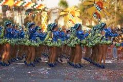 Ομάδα χορού Caporales - Arica, Χιλή Στοκ εικόνες με δικαίωμα ελεύθερης χρήσης