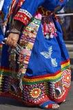 Ομάδα χορού Tinku - Arica, Χιλή Στοκ εικόνα με δικαίωμα ελεύθερης χρήσης