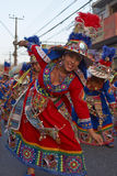 Ομάδα χορού Tinku - Arica, Χιλή Στοκ φωτογραφίες με δικαίωμα ελεύθερης χρήσης