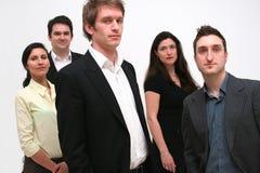 ομάδα 5 επιχειρηματιών Στοκ Εικόνα
