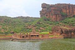 Ομάδα Bhutanatha ινδικών ινδών ναών, Badami Στοκ εικόνα με δικαίωμα ελεύθερης χρήσης