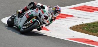 Ομάδα Castrol Honda Jonathan Rea Superbike Στοκ Εικόνες