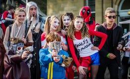 Ομάδα cosplayers στο Sci Fi Scarborough Στοκ φωτογραφία με δικαίωμα ελεύθερης χρήσης