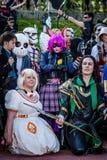 Ομάδα cosplayers στο Sci Fi Scarborough Στοκ Εικόνα