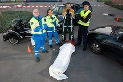ομάδα EMS Στοκ φωτογραφία με δικαίωμα ελεύθερης χρήσης