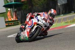 Ομάδα Imola SBK 2014 παγκόσμιου Superbike του Jonathan Rea Honda CBR1000RR SBK PATA Honda Στοκ Φωτογραφία
