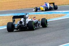 Ομάδα MotorSport Sauber F1, Felipe Nasr, 2015 Στοκ φωτογραφίες με δικαίωμα ελεύθερης χρήσης
