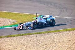 Ομάδα Sauber F1, Sergio Perez, 2011 Στοκ Φωτογραφία
