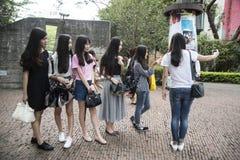 Ομάδα selfie, Shenzhen Στοκ Εικόνα