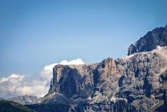 Ομάδα Sella, Dolomiti, Trentino Alto Adige, Ιταλία Στοκ φωτογραφία με δικαίωμα ελεύθερης χρήσης