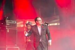 Ομάδα ST Paul μουσικής φεστιβάλ συναυλίας και τα σπασμένα κόκκαλα Στοκ Φωτογραφίες
