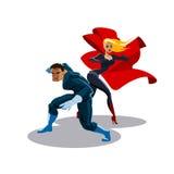 Ομάδα Superhero Στοκ Φωτογραφίες