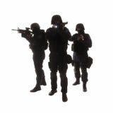 Ομάδα SWAT Στοκ Εικόνες