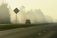 ομίχλη αυτοκινήτων Στοκ εικόνες με δικαίωμα ελεύθερης χρήσης