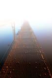 ομίχλη γεφυρών Στοκ εικόνα με δικαίωμα ελεύθερης χρήσης