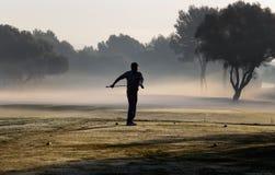 Ομίχλη γκολφ και πρωινού στοκ εικόνες με δικαίωμα ελεύθερης χρήσης