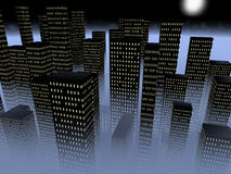 ομίχλη πόλεων ελεύθερη απεικόνιση δικαιώματος