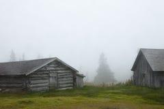 ομίχλη Σουηδία σιταποθη& Στοκ φωτογραφία με δικαίωμα ελεύθερης χρήσης