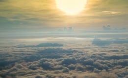 Ομίχλη όμορφη Στοκ Εικόνες
