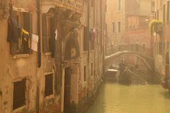ομίχλη Βενετία Στοκ εικόνες με δικαίωμα ελεύθερης χρήσης