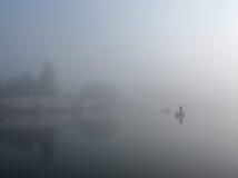 Ομίχλη καναλιών Στοκ Εικόνες