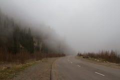 Ομίχλη στα βουνά Στοκ φωτογραφία με δικαίωμα ελεύθερης χρήσης