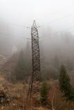 Ομίχλη στα βουνά Στοκ εικόνες με δικαίωμα ελεύθερης χρήσης