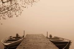 Ομίχλη στην ανατολή Στοκ εικόνες με δικαίωμα ελεύθερης χρήσης
