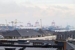 Ομίχλη του Δουβλίνου Στοκ φωτογραφίες με δικαίωμα ελεύθερης χρήσης